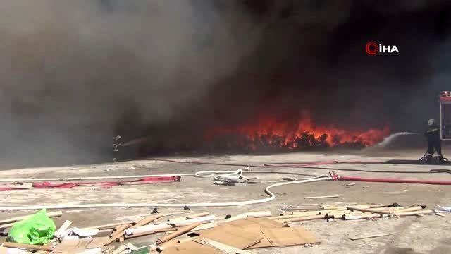 - Kırıkkale OSB'de fabrika yangını kontrol altına alındı