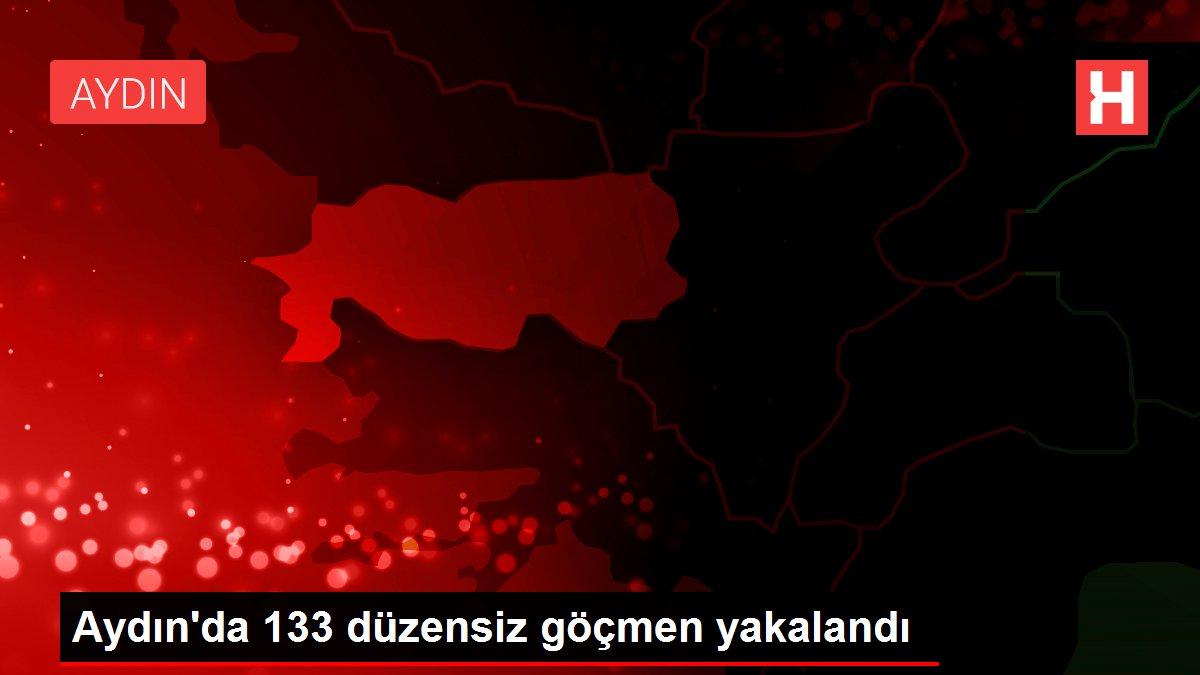 Aydın'da 133 düzensiz göçmen yakalandı