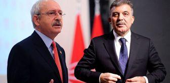 Kılıçdaroğlu'na açıkça soruldu: Abdullah Gül'e söz verdiniz mi?