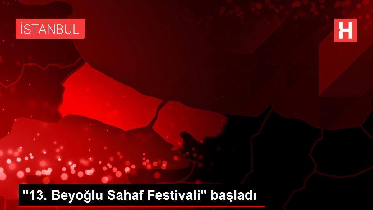 13. Beyoğlu Sahaf Festivali başladı