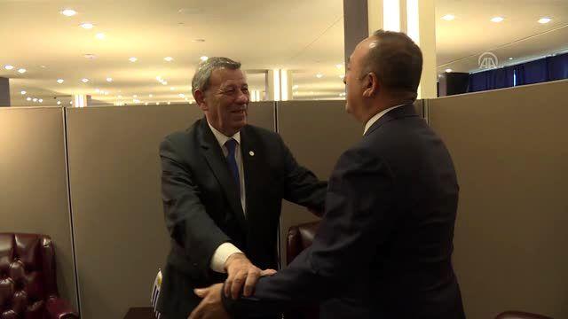 Çavuşoğlu, Uruguay Dışişleri Bakanı Novoa ile bir araya geldi - NEW