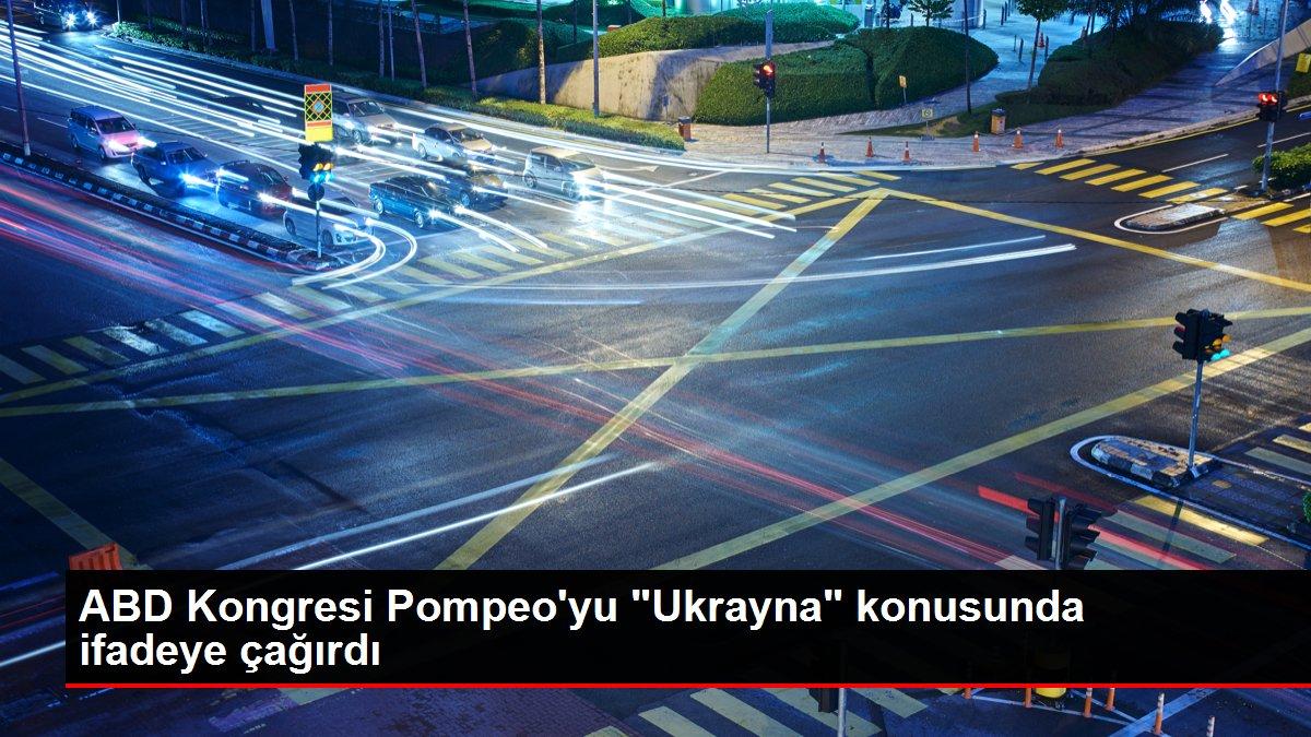 ABD Kongresi Pompeo'yu