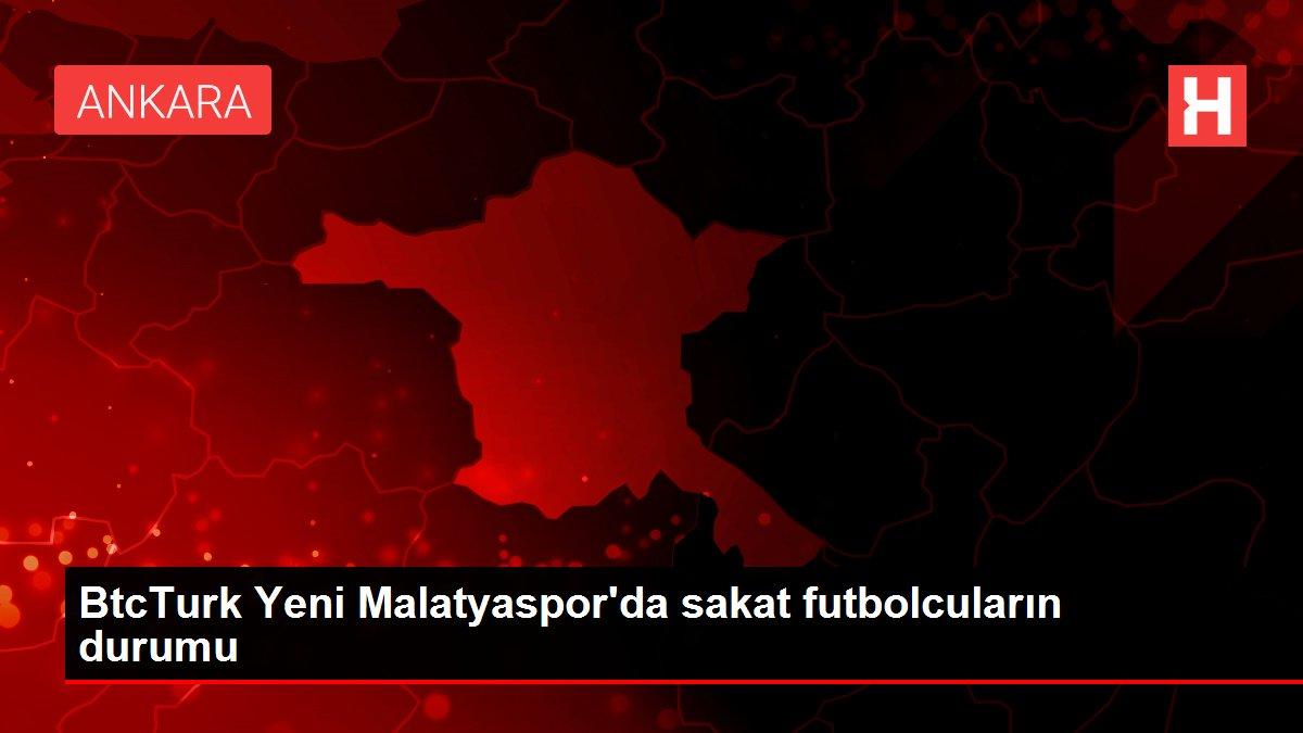 BtcTurk Yeni Malatyaspor'da sakat futbolcuların durumu