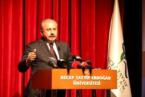 Şentop: türkiye sözleri takip edilen ülke haline geldi