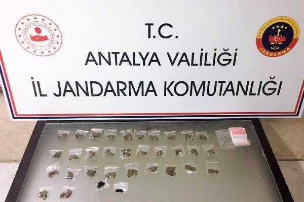 Mendil paketinden uyuşturucu çıkan türkmenistanlı zanlı tutuklandı