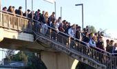 Altunizade metrobüs durağında yoğunluk yine devam etti