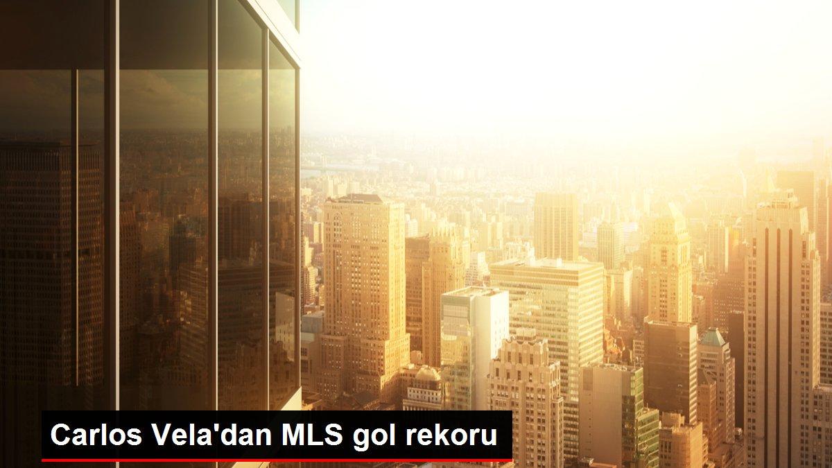 Carlos Vela'dan MLS gol rekoru