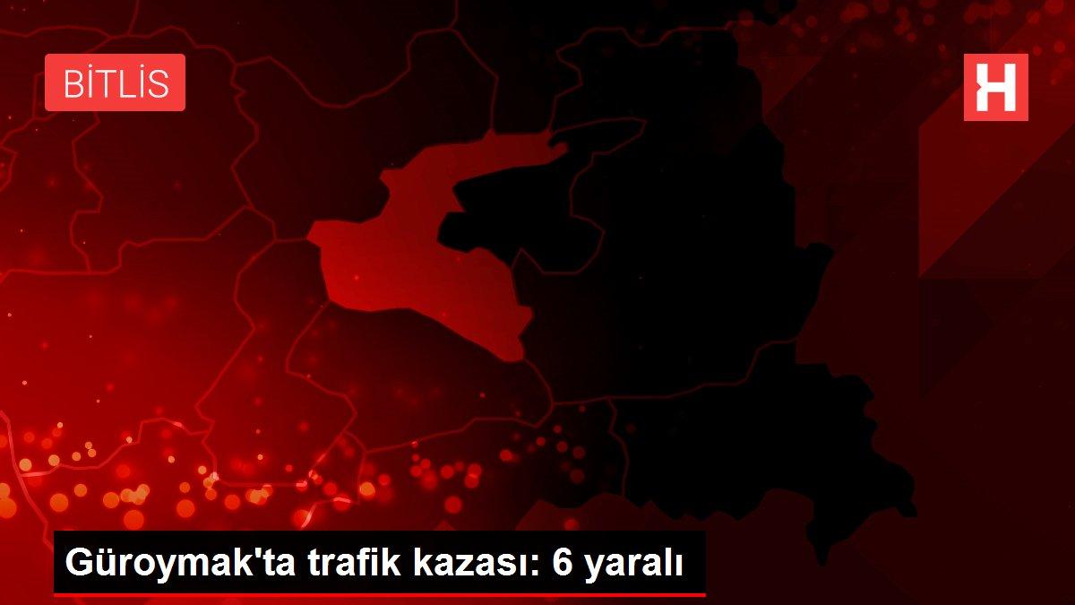 Güroymak'ta trafik kazası: 6 yaralı