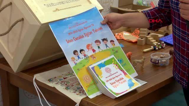 Kırsal kesimdeki çocuklar için 'oyun sandığı' eğitim seti