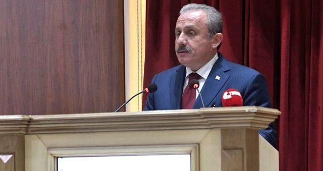 TBMM Başkanı Mustafa Şentop: Terör oluşumuna müsaade etmeme konusunda kati bir kararlılık içerisindeyiz