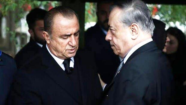 Galatasaray'da Mustafa Cengiz ve Fatih Terim'den 2 saatlik zirve