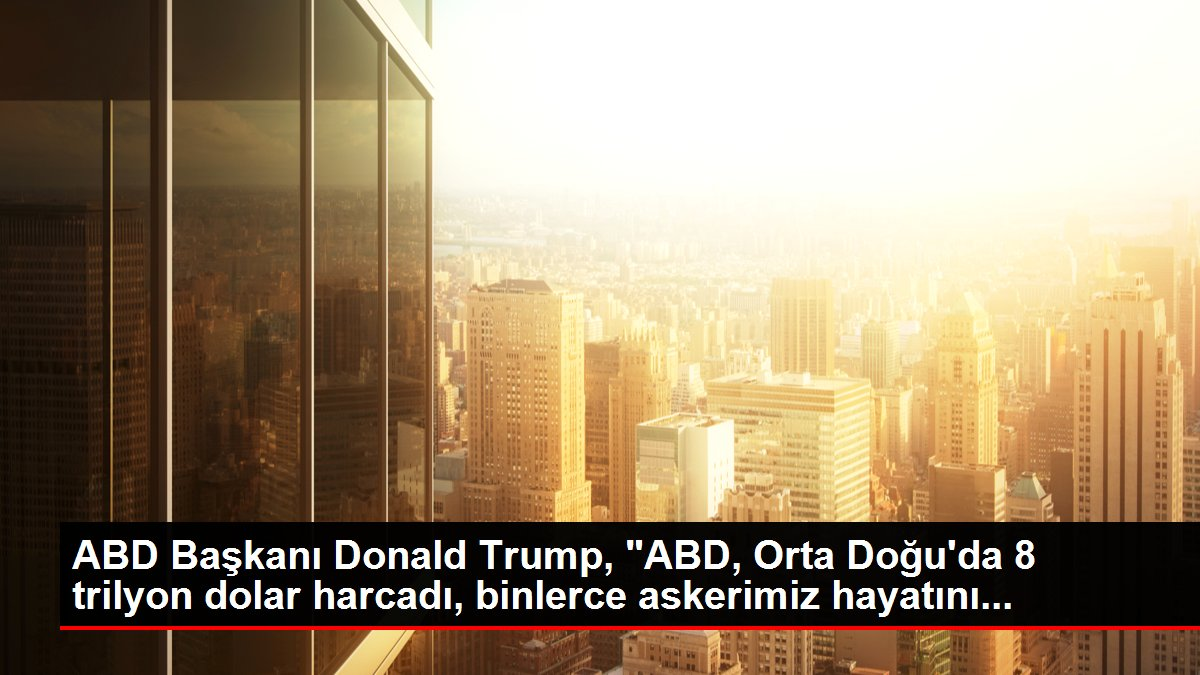 ABD Başkanı Donald Trump,