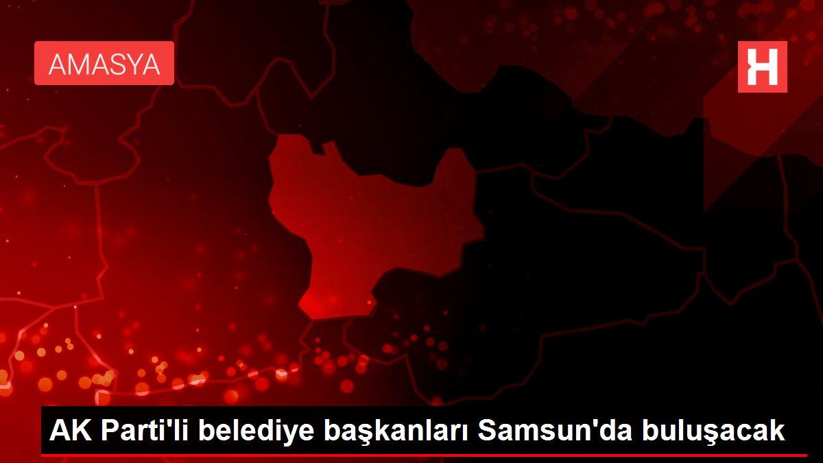 AK Parti'li belediye başkanları Samsun'da buluşacak