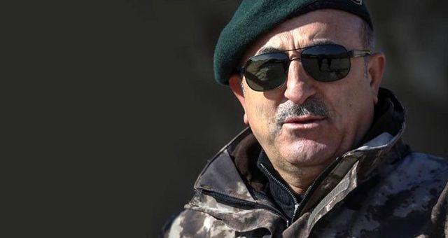 Çavuşoğlu'nun özel harekat üniformalı pozu, Akşener'in yardımcısını rahatsız etti