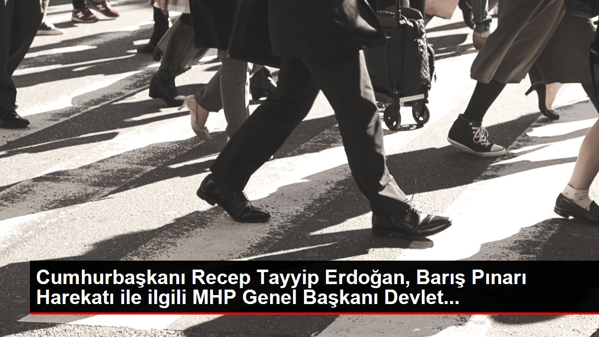 Cumhurbaşkanı Recep Tayyip Erdoğan, Barış Pınarı Harekatı ile ilgili MHP Genel Başkanı Devlet...
