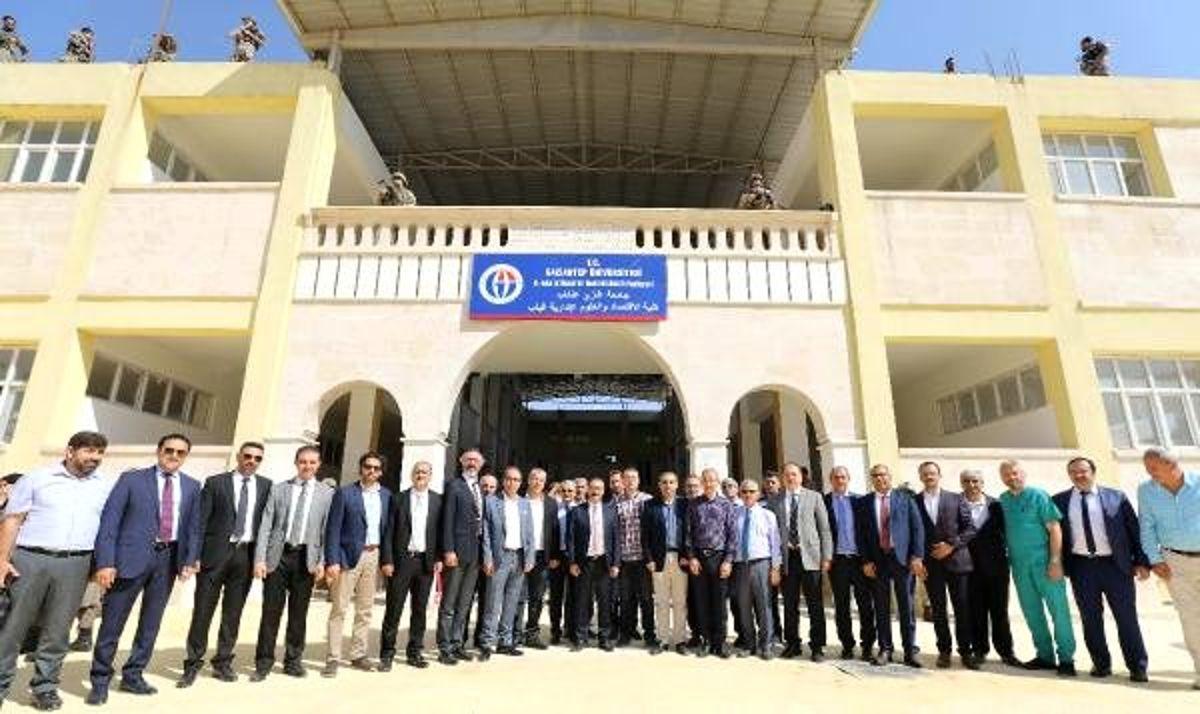 El-bab iktisadi ve idari bilimler fakültesi açıldı
