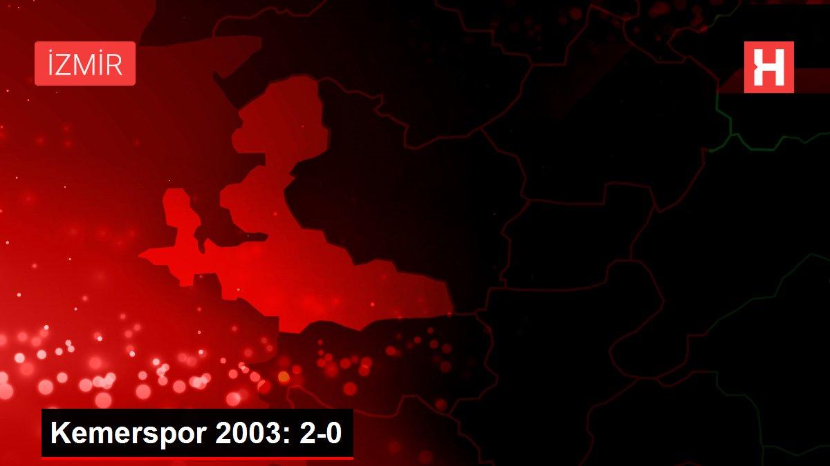 Kemerspor 2003: 2-0