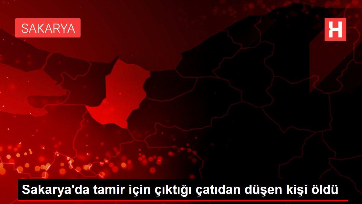 Sakarya'da tamir için çıktığı çatıdan düşen kişi öldü