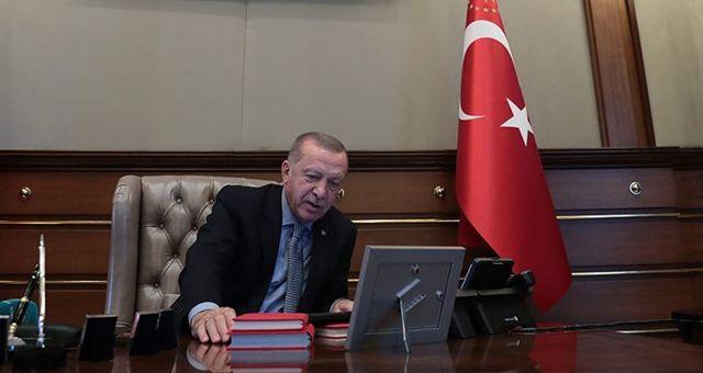 Cumhurbaşkanı Erdoğan'ın Barış Pınarı Harekatı emrini verdiği anın videosu paylaşıldı