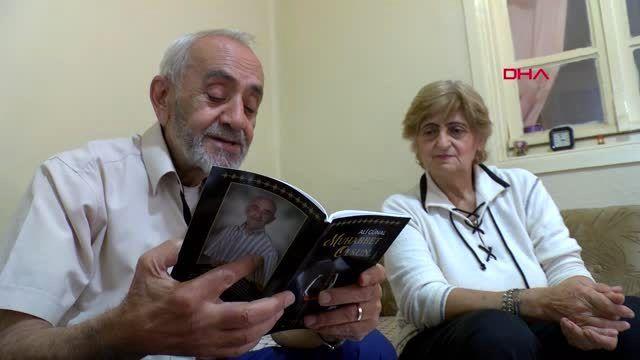 İzmir 'milyoner ali', taksicilikten emekli olup, şiir kitabı çıkardı