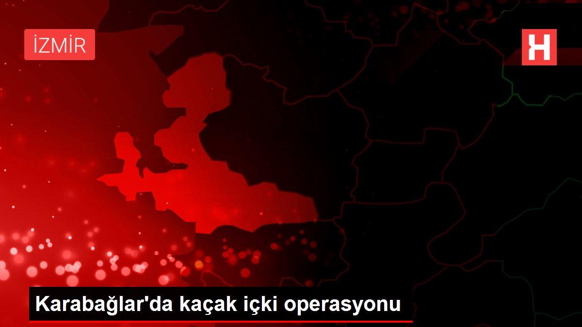 Karabağlar'da kaçak içki operasyonu