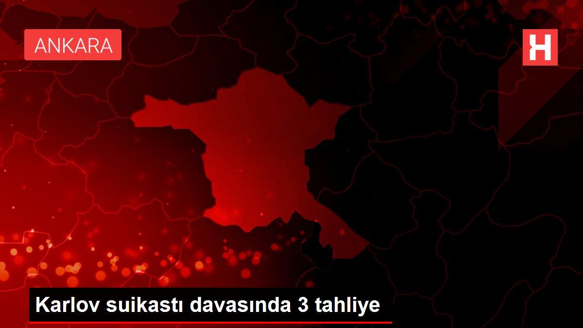 Karlov suikastı davasında 3 tahliye