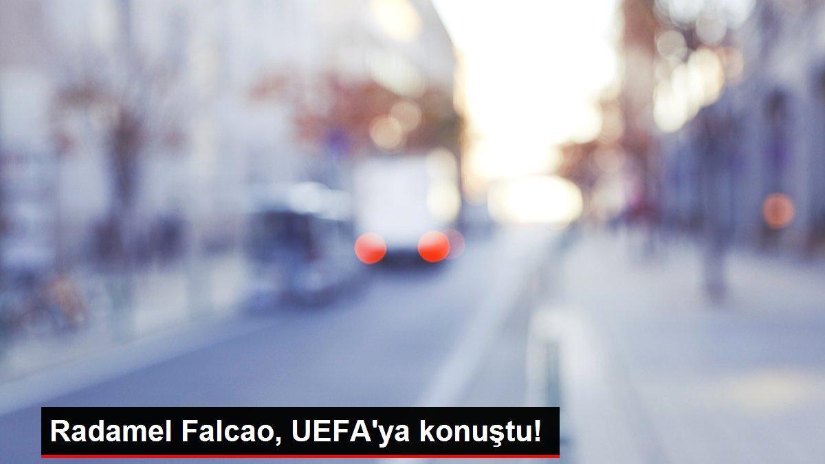 Radamel Falcao, UEFA'ya konuştu!