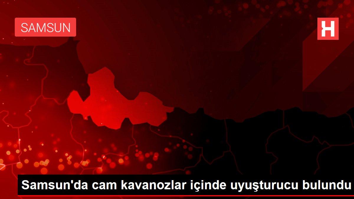 Samsun'da cam kavanozlar içinde uyuşturucu bulundu