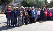 Sivas'ta, fabrika çalışanlarından mehmetçik için dua