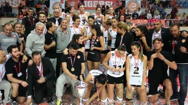 Spor şampiyonlar kupası izmir'e yakıştı
