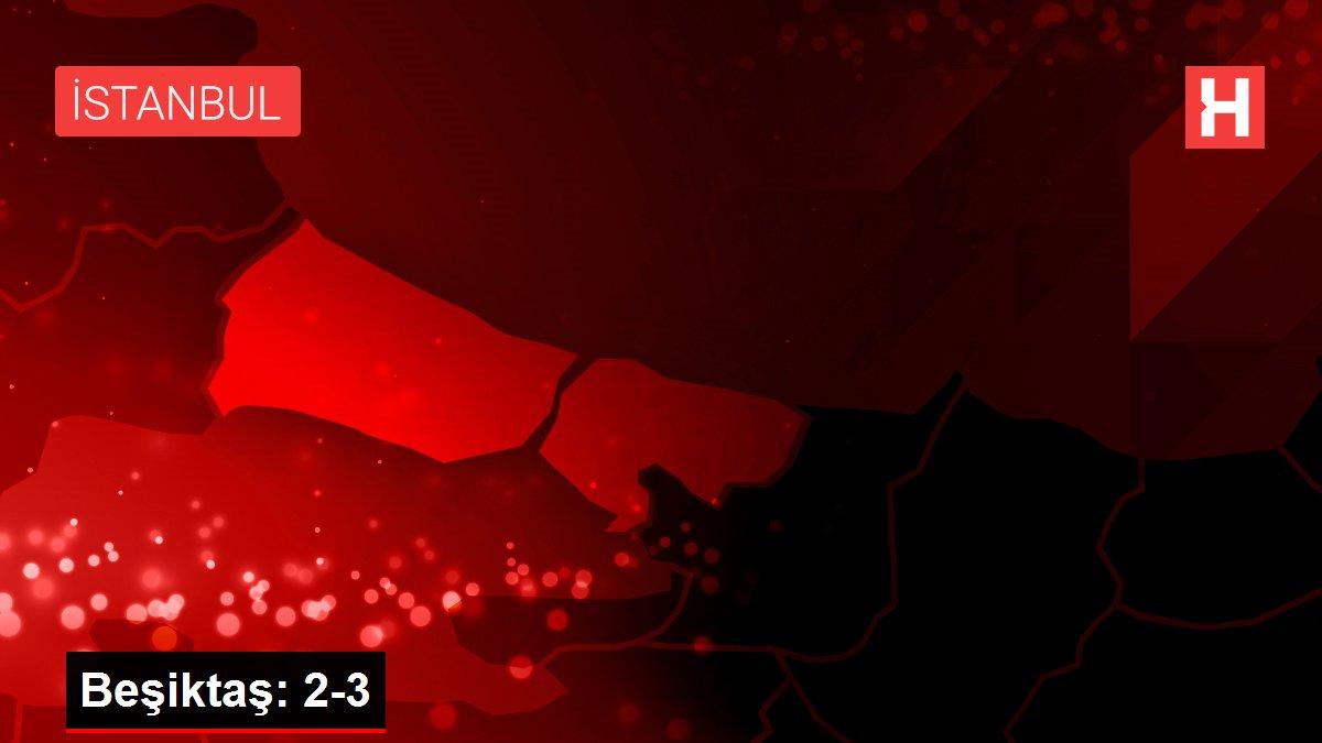Beşiktaş: 2-3