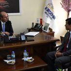 Japonya Ankara Büyükelçisi Akio Miyajima, Kırşehir'de
