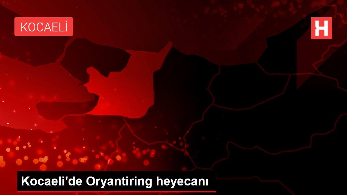 Kocaeli'de Oryantiring heyecanı