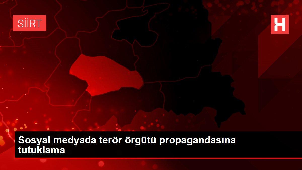 Sosyal medyada terör örgütü propagandasına tutuklama