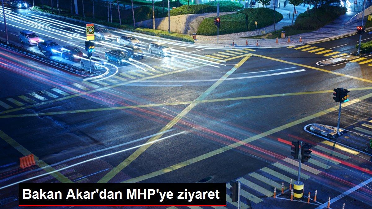 Bakan Akar'dan MHP'ye ziyaret