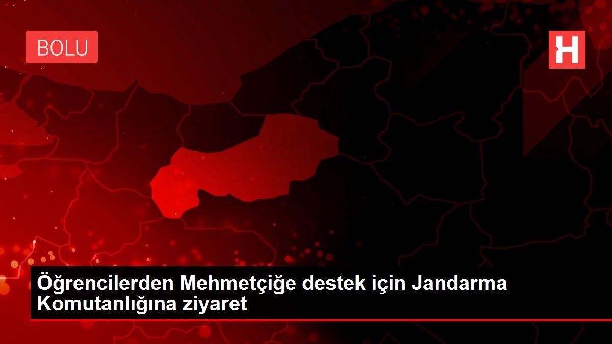 Öğrencilerden Mehmetçiğe destek için Jandarma Komutanlığına ziyaret