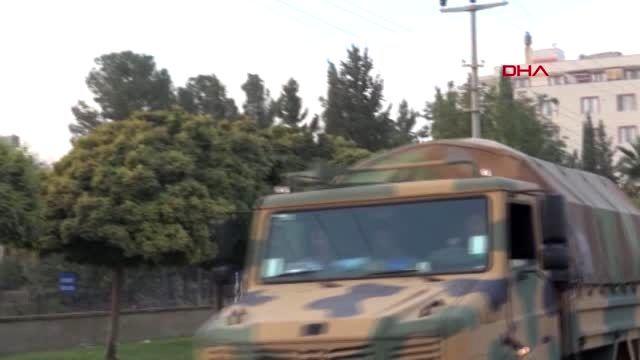 Şanlıurfa suriye sınırına askeri sevkiyatı