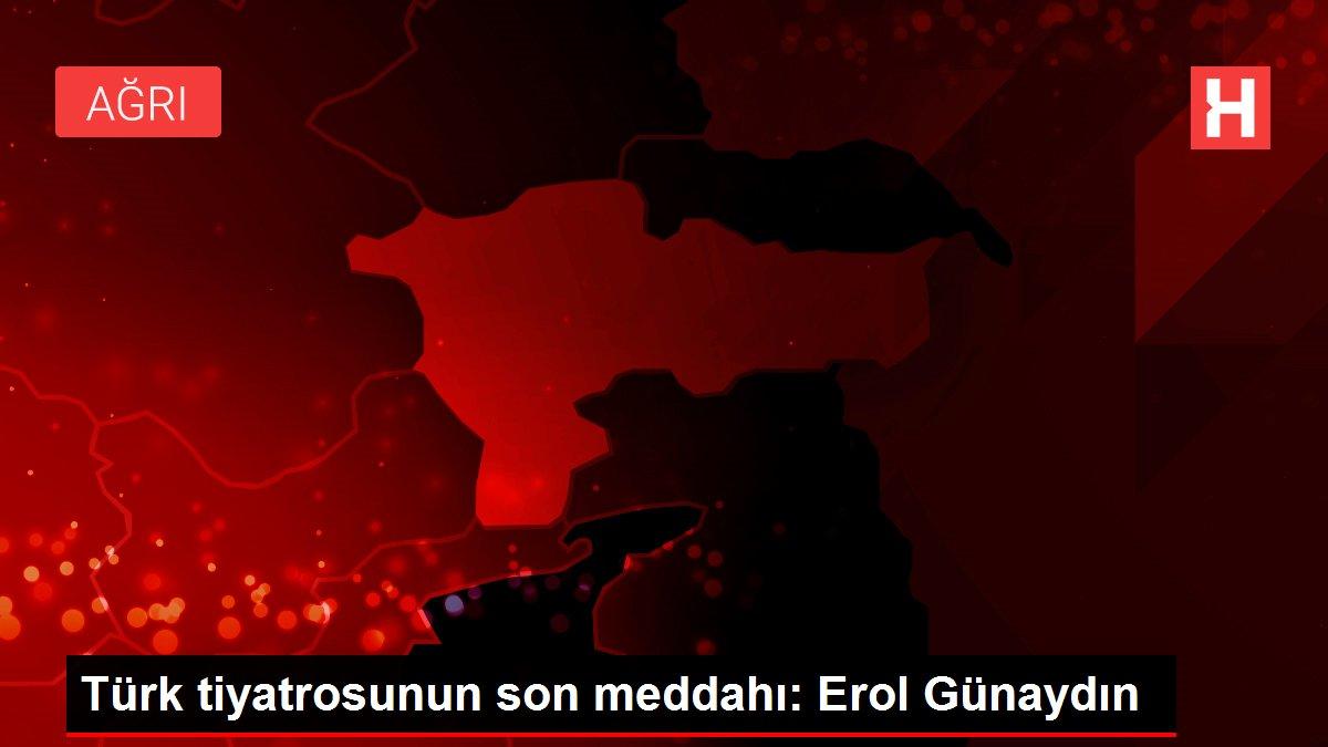 Türk tiyatrosunun son meddahı: Erol Günaydın