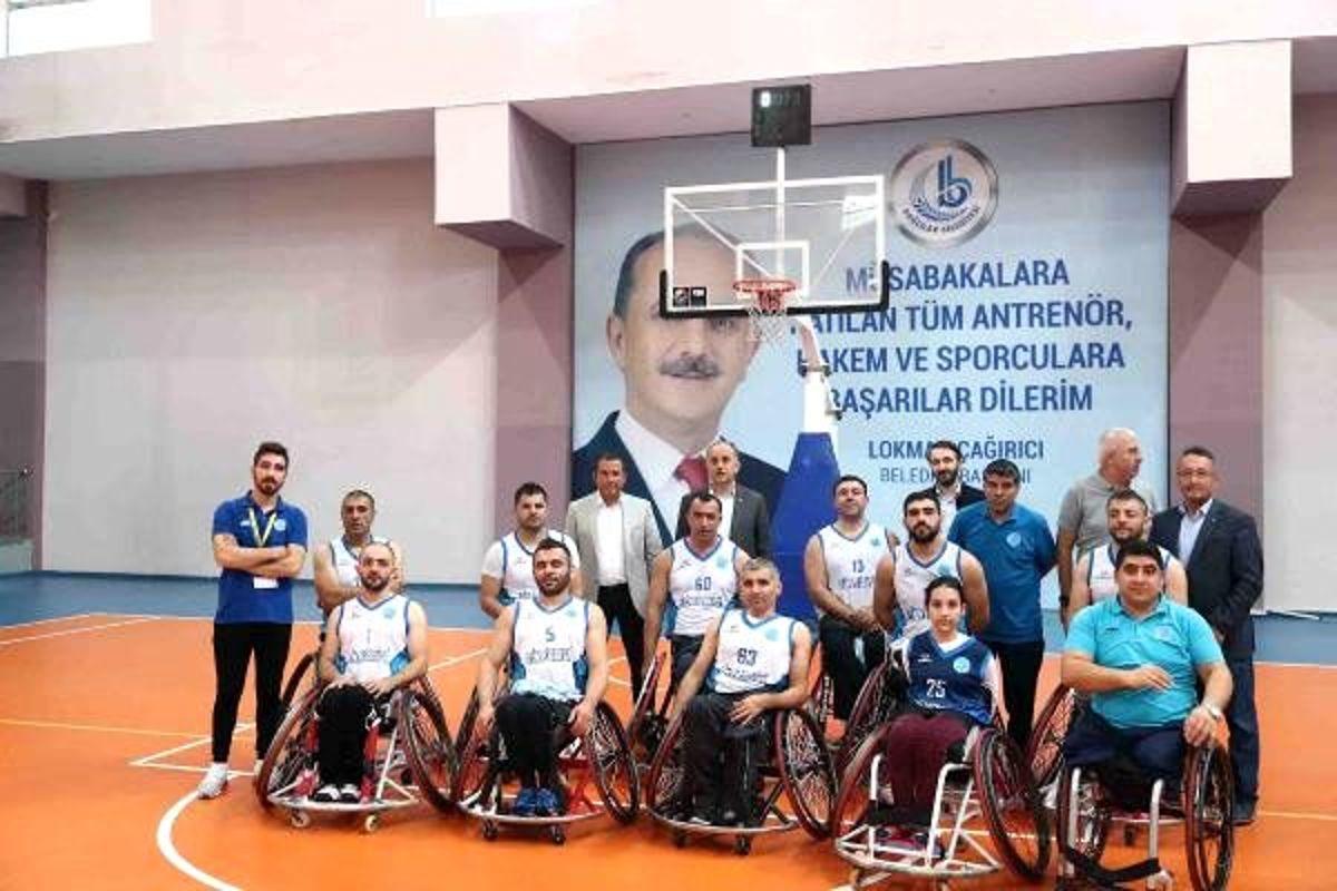 Bağcılar Tekerlekli Sandalye Takımı ilk galibiyetini aldı