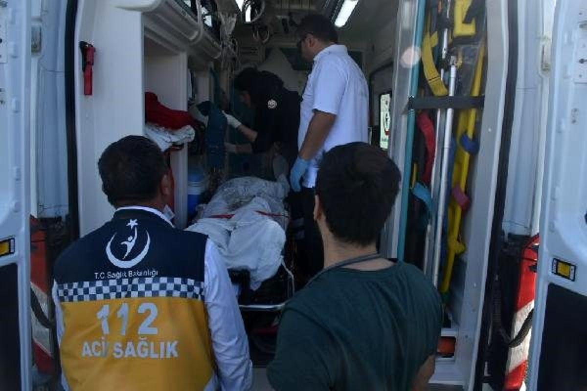 Çakıl yüklü kamyonun ezdiği mühendis Onur, ağır yaralandı