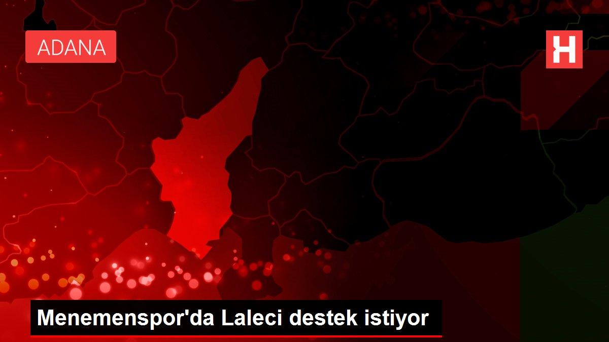 Menemenspor'da Laleci destek istiyor