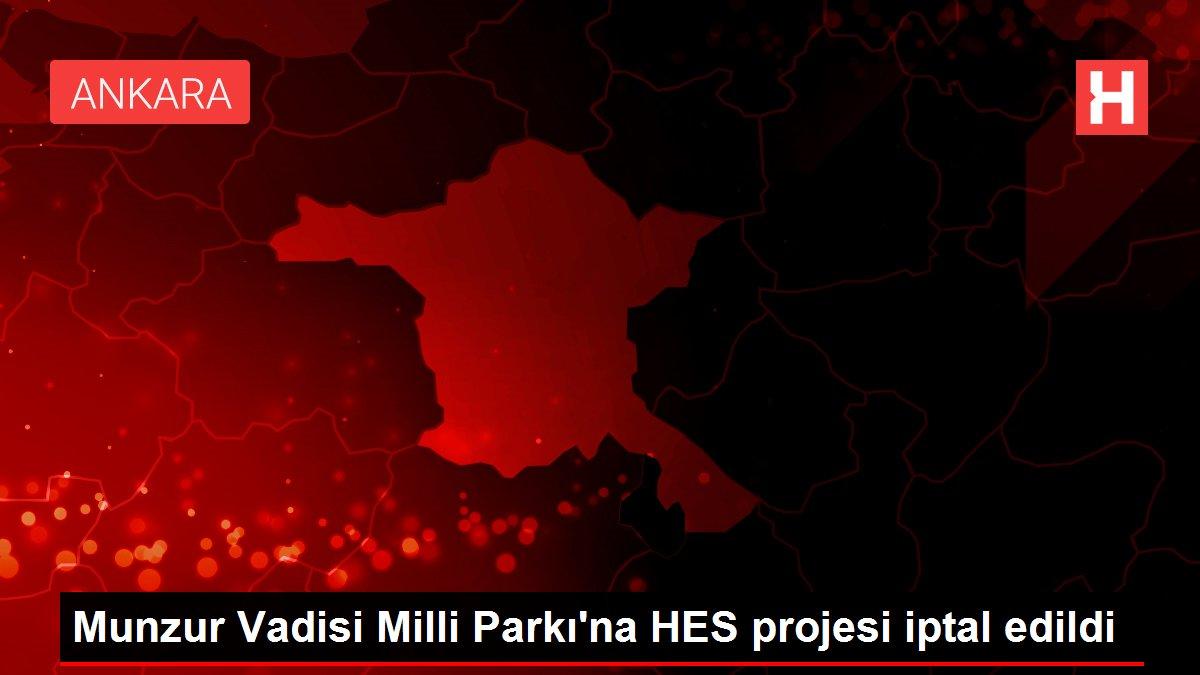 Munzur Vadisi Milli Parkı'na HES projesi iptal edildi