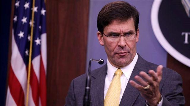 ABD Savunma Bakanı Esper: Türkiye'ye yönelik baskı yapacağım
