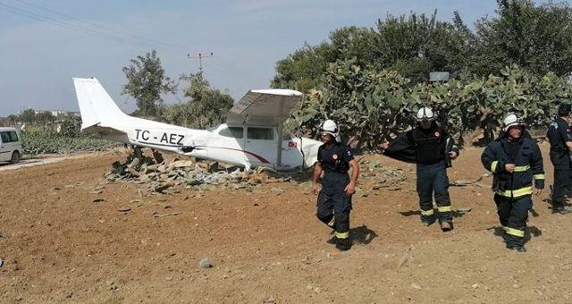 Antalya'nın Manavgat ilçesinde sivil eğitim uçağı düştü: Ölen ya da yaralanan yok