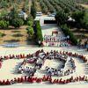 Hatay'da öğrencilerden Mehmetçik'e koreografili destek