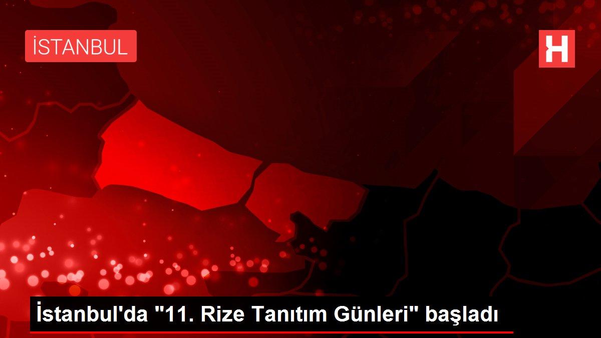 İstanbul'da 11. Rize Tanıtım Günleri başladı