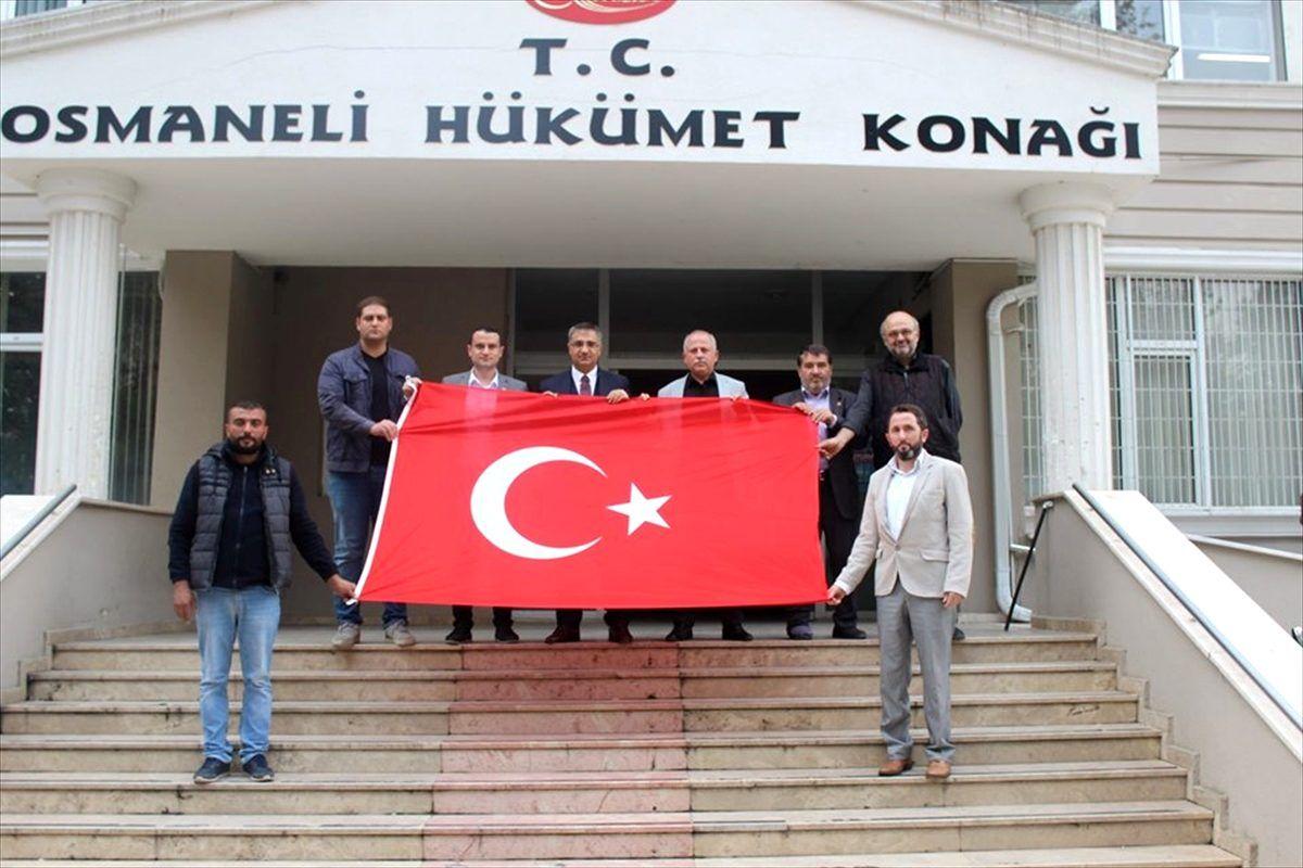 Liseli gençlerden Barış Pınarı Harekatı'na destek