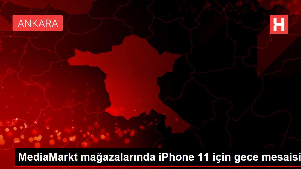 MediaMarkt mağazalarında iPhone 11 için gece mesaisi