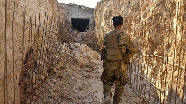 Erdoğan'ın dile getirdiği o tünellerde YPG/PKK'lı teröristler kıstırıldı