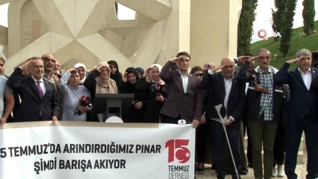 Barış Pınarı Harekatı'na 15 Temmuz şehitlerinin yakınlarından tam destek